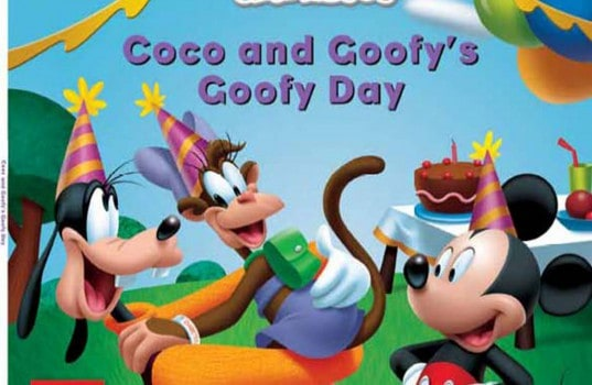 Coco y Goofy educando en diabetes
