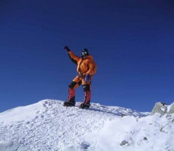Josu Feijoo en el Everest