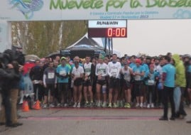 Salida carrera por la diabetes