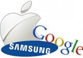 Apple, Samsung y Google