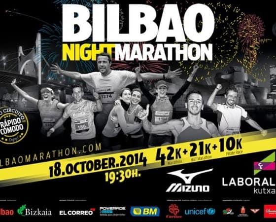 La Bilbao night Maratón