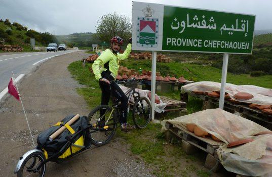 Antonio Lledó en Marruecos