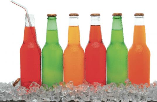 bebidas endulzadas