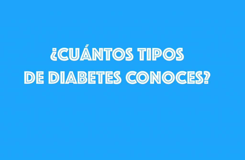 Clasifican la diabetes en 5 tipos - Canal Diabetes | La