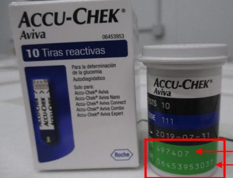 Accu-Chek Aviva y Accu-Chek Performa
