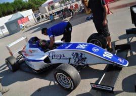 Kilian en Fórmula 4
